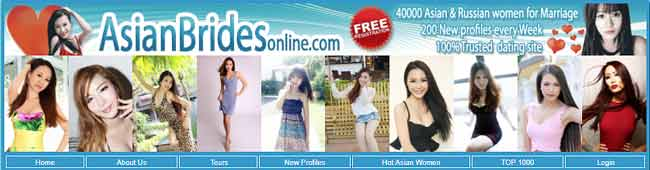Women from Asia seeking men online for love and marriage. Thai brides, Chinese brides, Philippines Brides. Find your Asian mail order bride here.